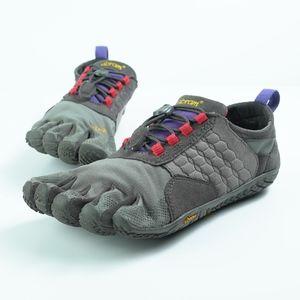 Vibram Fivefingers Trek Ascent Gray Purple 7-7.5